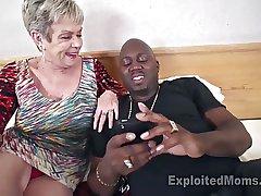 Busty Granny in Creampie Blear