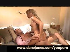 DaneJones Creampie for fabulous young GF