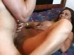 Erotic latin milf undressing plus shagging
