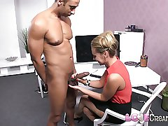 Love Creampie Massive cock delivers well-known load of cum deep