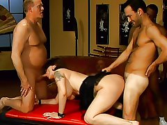MILF Gangbang approximately Cream Turnover and Anal Cream Turnover 2