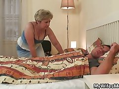 Old ogress uses son all round bill