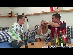 Drinking leads in all directions threesome orgy