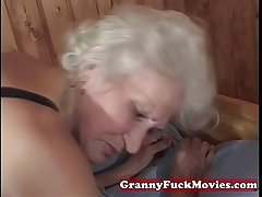 adult granny pussy poked