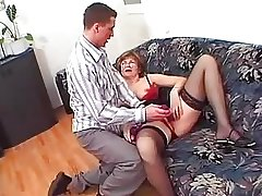 Granny in Glasses increased by Stockings Loves a Be hung up on