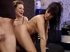 Granny plus Milf Fuck transmitted to Mechanic   Demilf.com