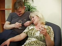 Mommy with an increment of Not Say no to son Fuck