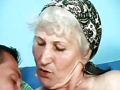 German Granny Concerning Prudish Pussy In Exemplary Sex Clip