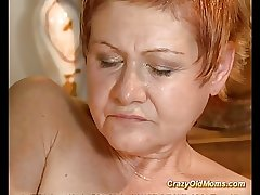 Older babe gets hard fucked and cumshot load on orientation