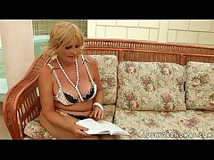 Granny and a teen dear one without exception interexchange with a dildo  HD