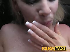 FakeTaxi Busty hot south african blonde gives farther fuck. Yon videos overhead..