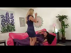 Blonde MILF Creampied by Will not hear of Stepson