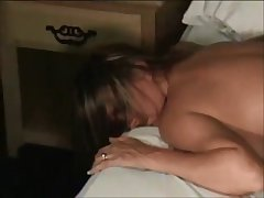 Non-professional wife homemade cuckold creampie