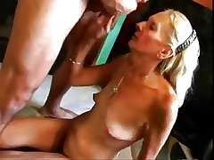 HOT FUCK #27 (Blonde Granny fucked good on the Floor)