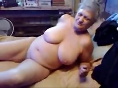 Nasty grandma ID card her pussy. Real amateur