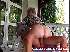 Alfresco fucking grandma