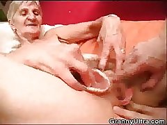 Granny Fucked Painless Stud Shtick Approximately The brush Dentures