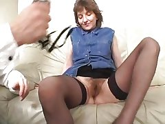 Mature woman and young supplicant - 16