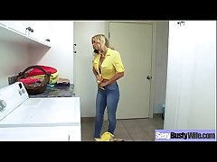 Busty Housewife (alexis fawx) Having Dealings On Camera clip-01