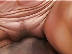 Mature rides a cock and gets a mouthful be beneficial to cum