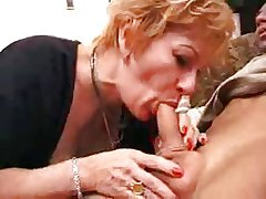 granny battle-axe gets creampie