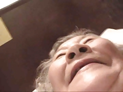 70 yr old Japanese Granny Fucks Well-disposed (Uncensored)