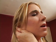 Fat mature blonde get say no to pussy fingered hard by down in the mouth battle-axe