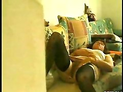 Low-spirited Milf Watched While Wanking !