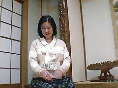 52yr old Granny Toyomi Furui gets Creamed (Uncensored)
