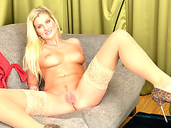 Tall blonde milf craves pussy respect