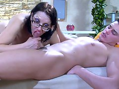 Lillian M with an increment of Claudius raunchy mature pic