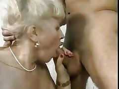 Of age dame and young man - 28