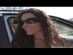 Soccer milf Victoria Valentino gets picked up outsider the parking lot  HD
