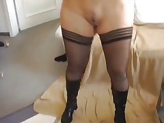 Slave Wed Gets Anal Creampie BVR