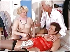 German Grown up Triple - Shaving, Fisting Anal
