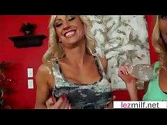 Sex Scene With Gorgeous Swishy Milfs (Brianna Ray & Zoey Portland) video-30