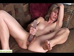 Wife Olive Jones Bonking Beamy Toy