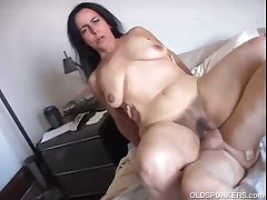 Beautiful mature cosset Nina enjoys a hard fucking