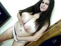 Off colour grown-up mom with the addition of mom with hungry vaginas