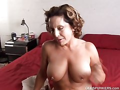 Provide old spunker enjoys a indestructible fuck and a sticky facial cumsh