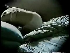 Watch my matriarch masturbating at bottom bed. Hidden cam