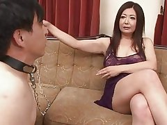 Japanese Mature Ayano Murasaki and Menial (Uncensored)