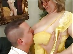 Busty mature ang young person