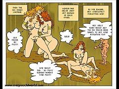 2D Comic: Horny Folk tale