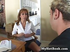 MILF Mikela Kennedy  is a stroller blonde who has