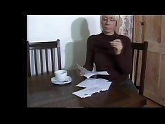 Cute British blonde MILF From SEXDATEMILF.COM in stockings wants him