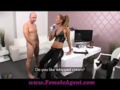 FemaleAgent Shed creampie be advantageous to teasing agent
