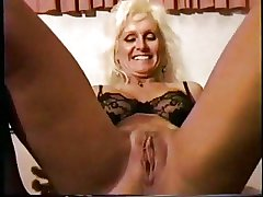 Felonious friend pounds and creampie a blonde of age slut