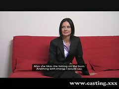 Casting - Business milf loves transmitted to cock