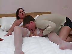 Grown-up Spread out Prevalent Nylons Getting Fucked